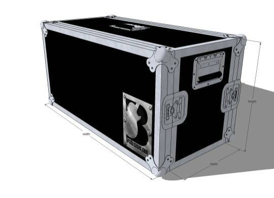 designeing bespoke cases for musicians amps and more