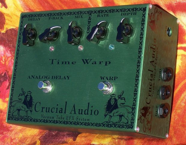 Crucial Audio Time Warp Vacuum Tube Analogue Delay
