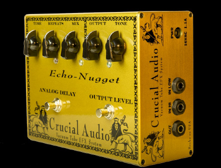 Crucial Audio Echo-NuggetVacuum Tube Delay