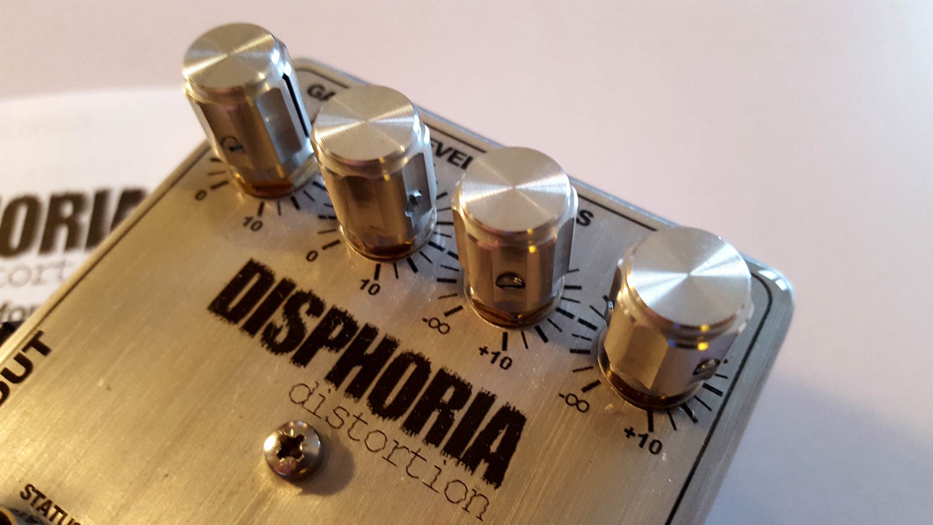 disphoria distortion pedal