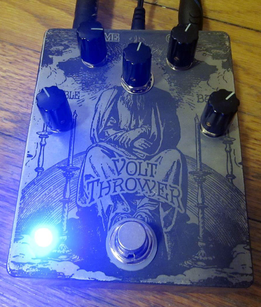 dunwich amps volt thrower effects pedal