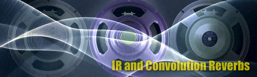 ir's and convolution reverbs download and shop