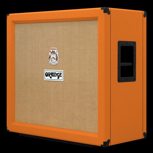 Orange Open Back Style 4x12 CAB IR