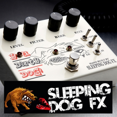 Sleeping Dog FX Pedals - You Dirty Dog Effects Pedal
