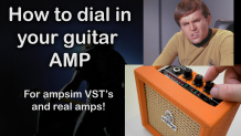 How to dial in your guitar amp