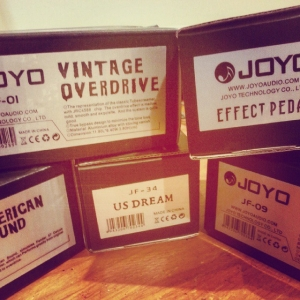 First Joyo pedal delivery arrived today