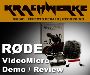 Rode VideoMicro small shotgun mic from Rode