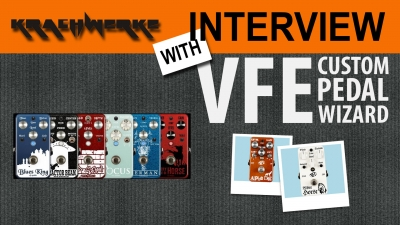 Interview with VFE Custom Pedals
