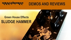 Sludge Hammer fuzz by Green House Effects