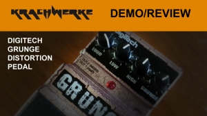 The DigiTech Grunge Pedal