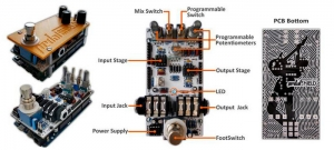 pedalSHIELD is a programmable Arduino Open Source & Open Hardware guitar pedal made for guitarists