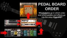 Effects Pedal board order