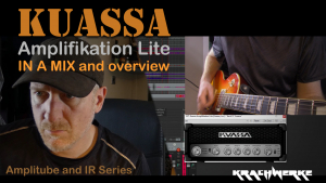 Kuassa Amplifikation Lite in mixed track - demo and review