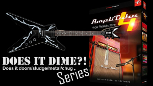 Does it DIME? - Does Amplitube DOOM/METAL/CHUG like Dimebag Darrel