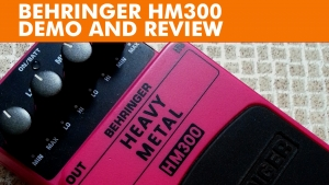 Behringer HM300 Heavy Metal demo and review