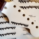 Guitar rebuild Part 05 - Adding a waterslide decal to the guitar headstock